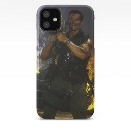 Arnold Schwarzenegger Commando Iphone 11 Case (HD) iPhone Case