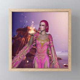 Beautiful fairy Framed Mini Art Print