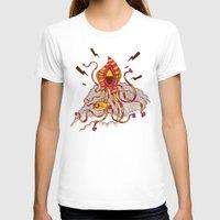 kraken T-shirts featuring Kraken! by Popnyville