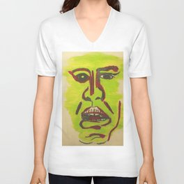 A Disgusted Self Unisex V-Neck