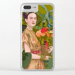 Floreria Clear iPhone Case