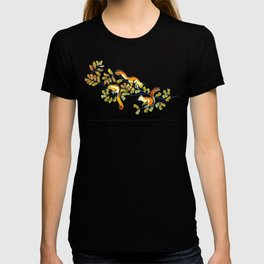 Oak Tree with Squirrels in Fall T-shirt