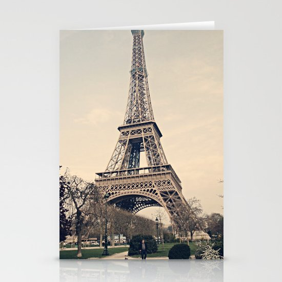 Good Morning Paris Stationery Cards