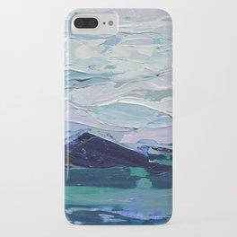 Blue Ridge Peak iPhone Case