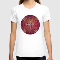chakra T-shirts featuring Root Chakra by brenda erickson