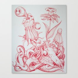 Tarandarus Flosculus (A) Canvas Print