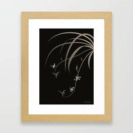 Spider Ivy Framed Art Print
