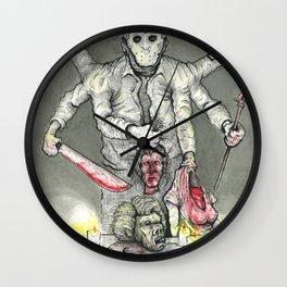 God of the Lake Wall Clock