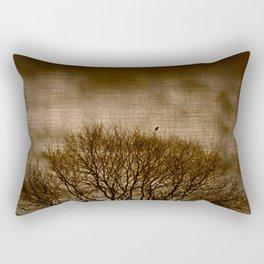 Lonesome Guardian Rectangular Pillow