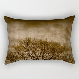 Lonesome Guardian Rectangular Pillow