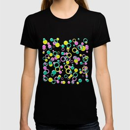 Abstract colorful bubbles 170 T-shirt