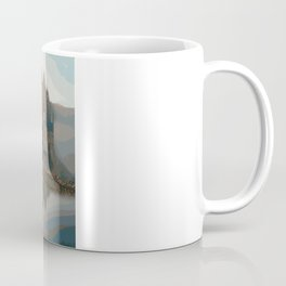Castle In The Mist (Painting) Coffee Mug