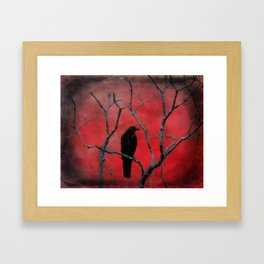 The Color Red Framed Art Print