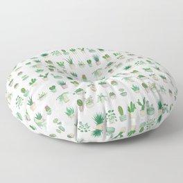 Tiny garden Floor Pillow