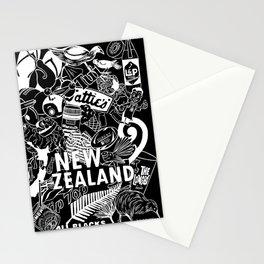 Kiwiana Doodle - Dark Stationery Cards