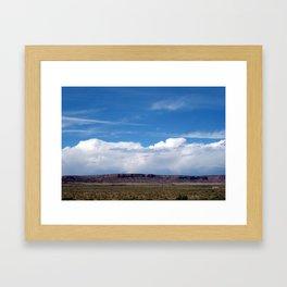 """New Mexico, Big Sky"" Framed Art Print"