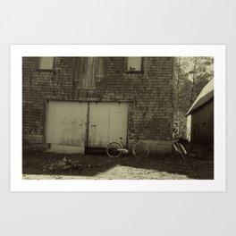 """""""Bike Shop"""" Art Print"""