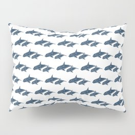 Faceted Whale Pillow Sham