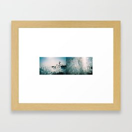 Lake Washington Framed Art Print
