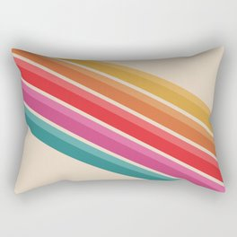 Retro - Downhill #743 Rectangular Pillow