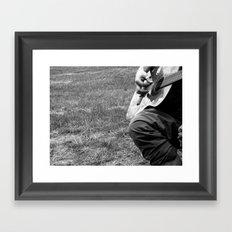 Music. Framed Art Print