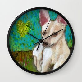 Chihuahua Love Wall Clock