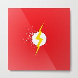 Square Heroes - Flash Metal Print