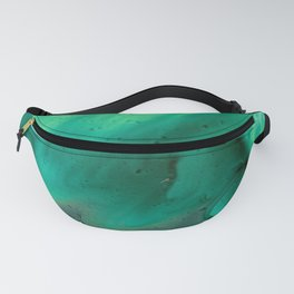 Teal Storm Fanny Pack