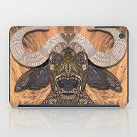 african iPad Cases featuring African Buffalo by ArtLovePassion