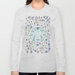 Chanson de la lune bleue Long Sleeve T-shirt