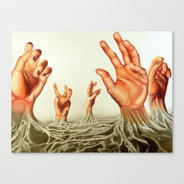 Handscape Canvas Print