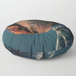 Black Widow Floor Pillow