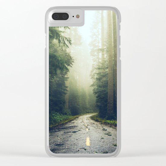 Redwood Forest Adventure Clear iPhone Case