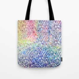 NSFW Rainbow Kinky S&M Pattern Tote Bag