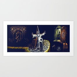 The Dungeon Art Print
