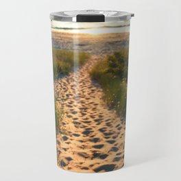 Path To Lake Michigan Travel Mug
