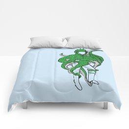 timid monster Comforters