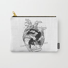 Trust your heart journeys.  Carry-All Pouch