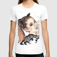 ariana grande T-shirts featuring ARIANA G. by CARLOS CASANOVA