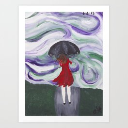 Blistery Winds Art Print