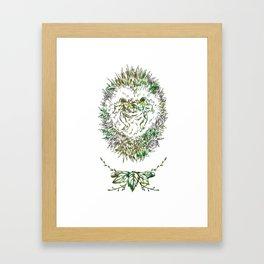 Little Hadgehog Framed Art Print