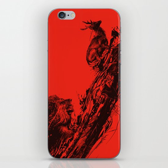 Intense Chasing II iPhone & iPod Skin