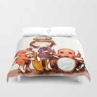 band Duvet Covers featuring Jam Band  by FlyOkay