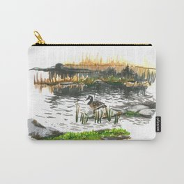 Facing water Carry-All Pouch