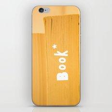 book iPhone & iPod Skin