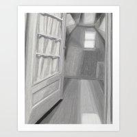 Bedroom Window Art Print
