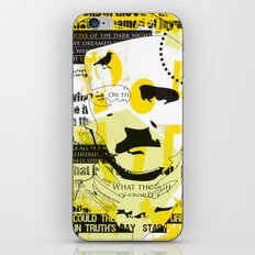 poe-try 4 iPhone & iPod Skin