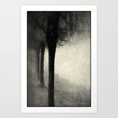 Twins in the Forest Art Print
