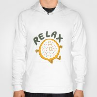 relax Hoodies featuring Relax by Vaughn Fender