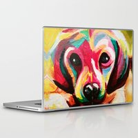 puppy Laptop & iPad Skins featuring Puppy by stepanka hejlova